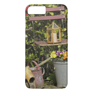 Coque iPhone 7 Plus Seaux, chaussures, et fleurs, Zaanse Schans,