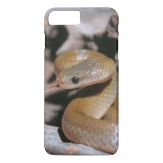 Coque iPhone 7 Plus Serpent gonflé par jaune de Chambre (Lamprophis