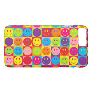 Coque iPhone 7 Plus Smiley de bruit