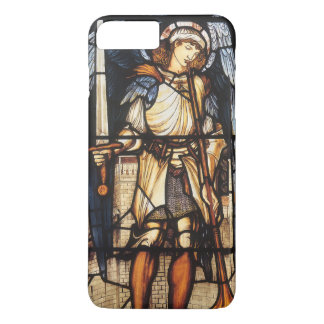 Coque iPhone 7 Plus St Michael par Burne Jones, Arkhangel vintage
