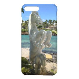 Coque iPhone 7 Plus Statue de hippocampe (hippocampe), Waikoloa, Hawaï