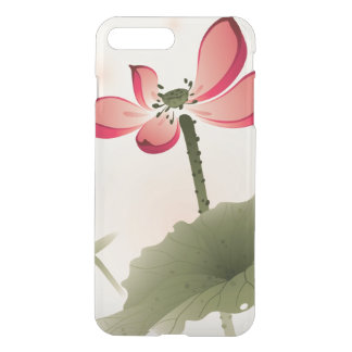 Coque iPhone 7 Plus Style oriental Lotus