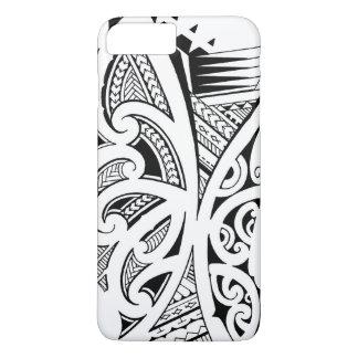 Coque iPhone 7 Plus Styles de tatouage, maori mélangés, Samoan et