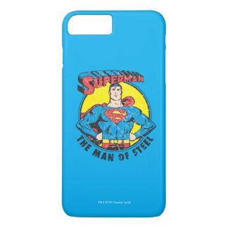 Coque iPhone 7 Plus Superman l'homme de l'acier