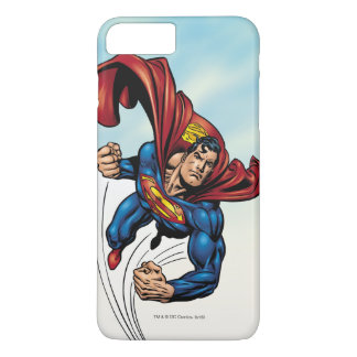 Coque iPhone 7 Plus Superman rapide par l'air