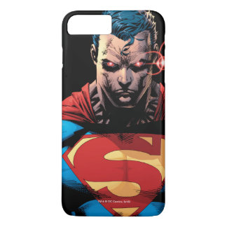 Coque iPhone 7 Plus Superman - vision de laser