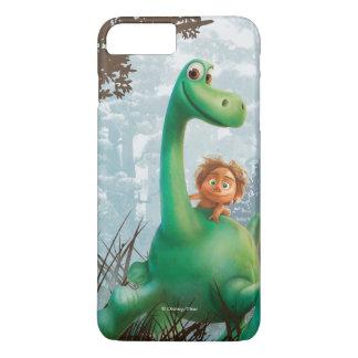 Coque iPhone 7 Plus Tache et Arlo marchant par la forêt