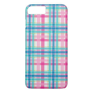 Coque iPhone 7 Plus Tartan, motif de plaid