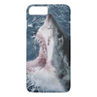 Coque iPhone 7 Plus Tête de grand requin blanc