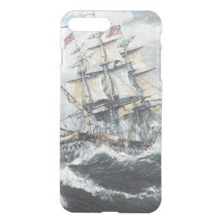 Coque iPhone 7 Plus Têtes de constitution d'USS pour S.M. frégate