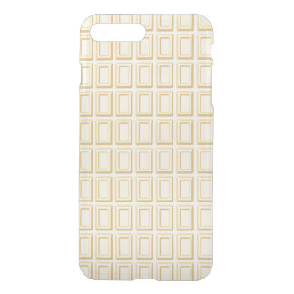 Coque iPhone 7 Plus Texture blanche de barre de chocolat