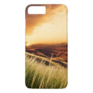 Coque iPhone 7 Plus tiges de précipitation au coucher du soleil