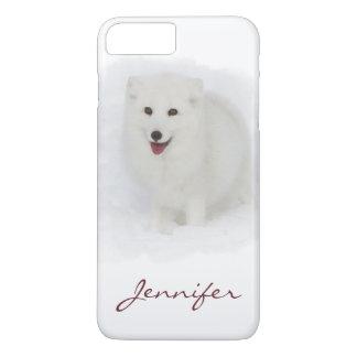 Coque iPhone 7 Plus Tout le Fox arctique blanc
