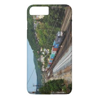 Coque iPhone 7 Plus Train de marchandises dans les Gemünden au Main