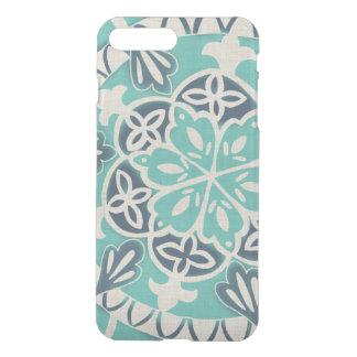 Coque iPhone 7 Plus Tuile bleue I de batik