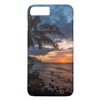 Coque iPhone 7 Plus Un beau coucher du soleil