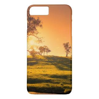 Coque iPhone 7 Plus Un paysage rural de collines d'Adelaïde