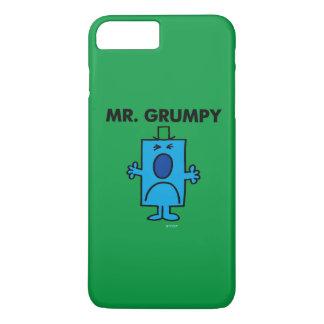 Coque iPhone 7 Plus Visage de froncement de sourcils de M. Grumpy |