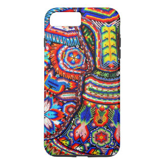 Coque iPhone 7 Plus Voyage tribal maya mexicain de Boho d'art d'Oaxaca