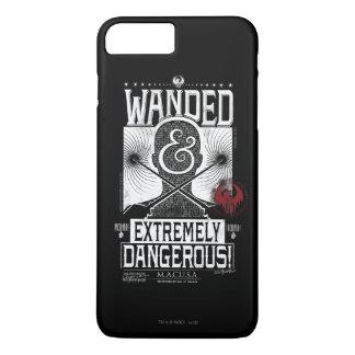 Coque iPhone 7 Plus Wanded et affiche voulue extrêmement dangereuse -
