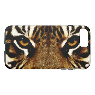 Coque iPhone 7 Plus Yeux d'un tigre