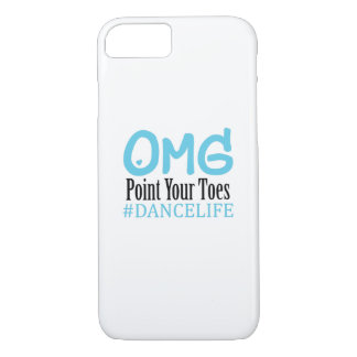 Coque iPhone 7 Point drôle d'Omg de professeur de cadeau de danse
