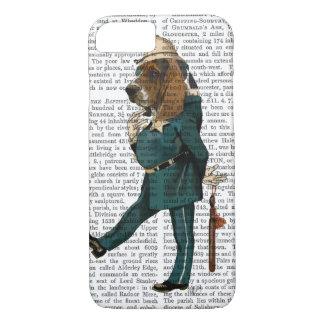 Coque iPhone 7 Policier de Basset Hound