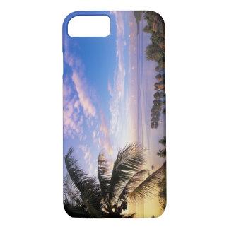Coque iPhone 7 Polynésie française, Moorea. Vue du Baie De