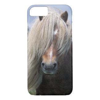 Coque iPhone 7 Poney du R-U, Ecosse, Îles Shetland, Shetland