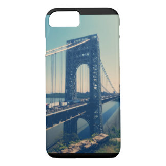 Coque iPhone 7 Pont de George Washington, NYC