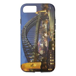 Coque iPhone 7 Pont de port de Sydney et hôtel de Hyatt Sydney de