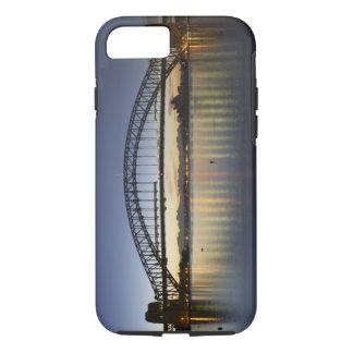 Coque iPhone 7 Pont de port de Sydney et théatre de l'opéra de
