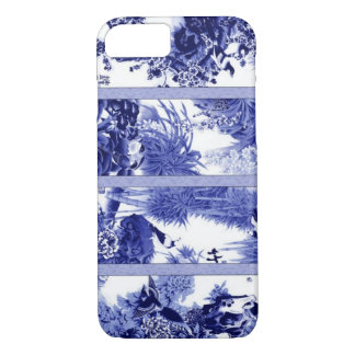 Coque iPhone 7 Porcelaine bleue et blanche chinoise