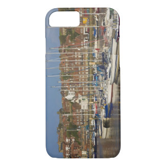 Coque iPhone 7 Port, Whitby, North Yorkshire, Angleterre