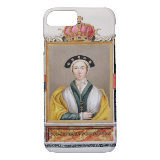 Coque iPhone 7 Portrait d'Anne de 1515-57) 4èmes reines de Cleves