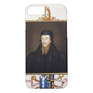Coque iPhone 7 Portrait d'archevêque d'Edmund Grindal (c.1519-83)