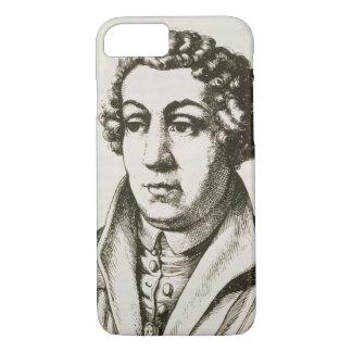 Coque iPhone 7 Portrait de 1455-1522) copies de Johann Reuchlin