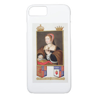 Coque iPhone 7 Portrait de 1489-1541) reines de Margaret Tudor