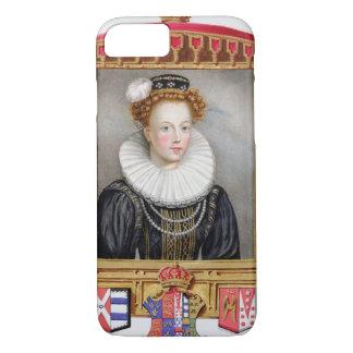 Coque iPhone 7 Portrait de 1512-1548) sixièmes épouses de