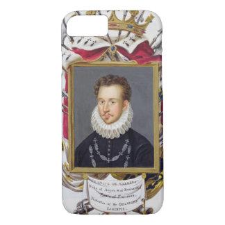 Coque iPhone 7 Portrait de Charles IX de la France (1550-74) de