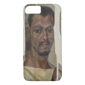 Coque iPhone 7 Portrait de Fayum (cire d'encaustic sur le bois)