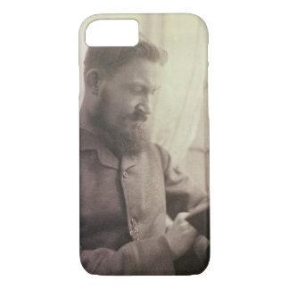 Coque iPhone 7 Portrait de George Bernard Shaw (1856-1950) comme