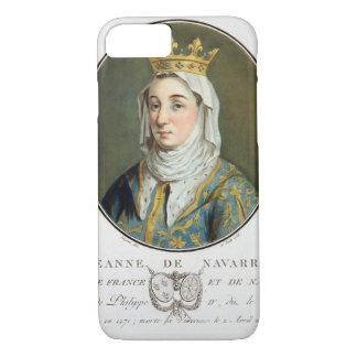 Coque iPhone 7 Portrait de Jeanne De la Navarre (1271-1304), 1788