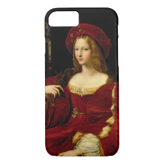Coque iPhone 7 Portrait de Jeanne d'épouse d'Aragon (c.1500-77)