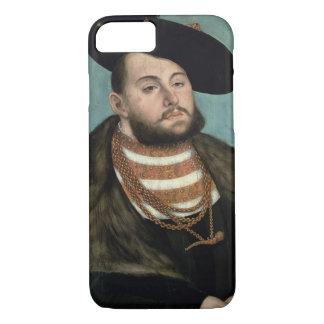Coque iPhone 7 Portrait de John Frederick le magnanime (1503-5