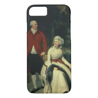 Coque iPhone 7 Portrait de John Jules Angerstein (1735-1823) et