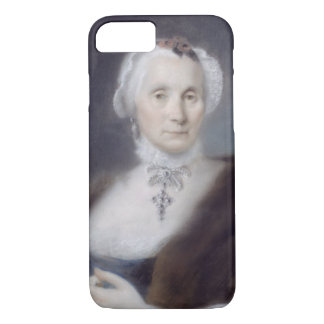 Coque iPhone 7 Portrait de la mère de l'artiste, Cecilia Guardi,