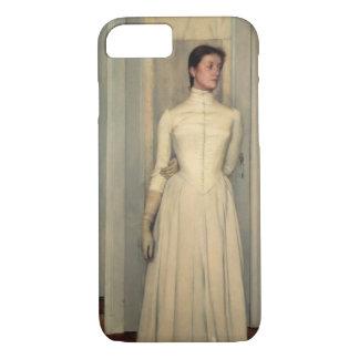Coque iPhone 7 Portrait de la soeur de l'artiste, marguerite des