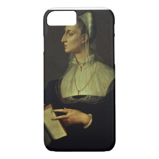 Coque iPhone 7 Portrait de Laura Battiferri, c.1555-60 (panneau)