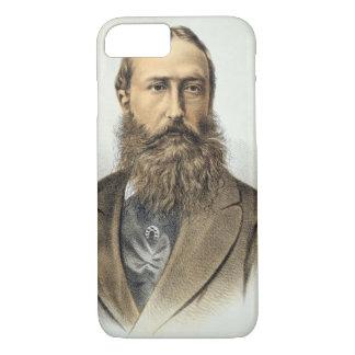 Coque iPhone 7 Portrait de Leopold II (1835-1909), roi de Belgiu